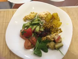 Great vegan food with lovely price
