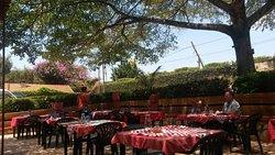 Außentische Cafe Roma