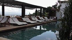 Lovely pool plenty of sunbeds