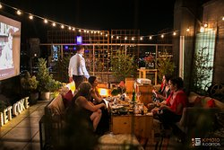 Kimoto Rooftop Garden Lounge