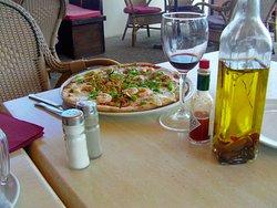 une pizza bien sympa
