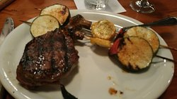 Great steak and sides!