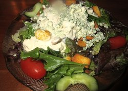 Tasty Garden Salad, Shugrue's Restaurant and Bakery, Lake Havasu City, AZ