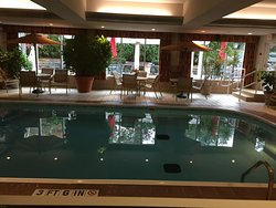 Another angle of their Indoor Pool Area