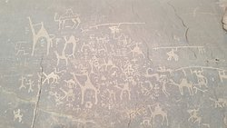Nabateans Inscriptions as part of the tour