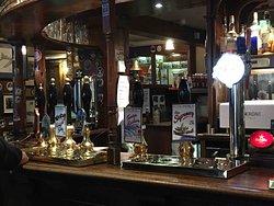 les choix de bières à la tireuse (pression)