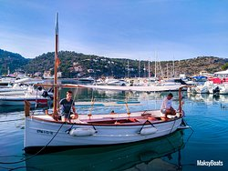 Llaut, traditional mallorquin boat for rent or fishing tours