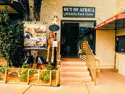 Out of Africa Wildlife Park Gift Shop
