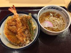 Tempura bowl Tenya Asakusa