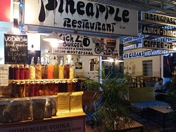 Pineapple Bar