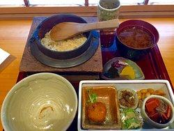 シジミ釜飯と近江のおばんざい