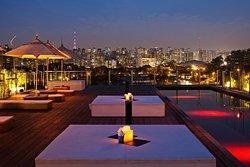 Best roof terrace restaurant in town