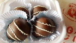 Casinha Do Figo Com Chocolate