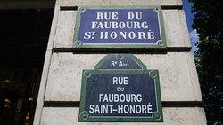 Rue du Faubourg Saint-Honore
