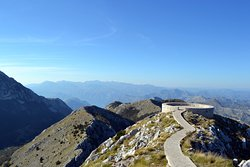 Observation Deck on the Mountain Lovcen