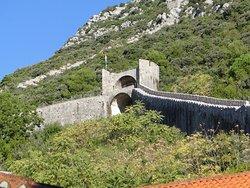 Neat wall -  a minature version of China's Great Wall