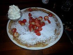 Strawberry Crepes HEAVEN!!!!