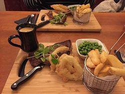 Tuesday night steak night
