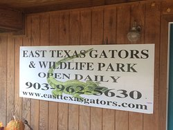 ‪East Texas Gators and Wildlife Park‬