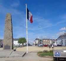 Le monument du Commando
