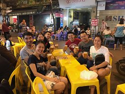 Bia Hoi time in Hanoi!