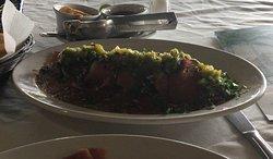 Media porción de Sashimi de Atún y Atún Marejada. Muy recomendable!