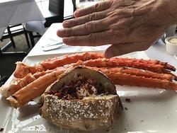 Patas de cangrejo gigantes