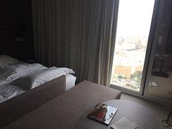 Très bel hôtel design mais une chambre simple suffit.