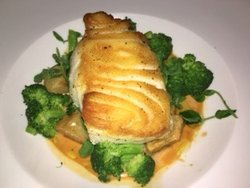 Fish, perfectly cooked