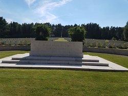Becklingen War Cemetery.