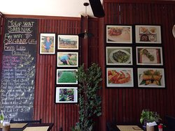 Organic coffees and Best restaurant in Siem reap