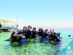 Ahla Diving in Eilat