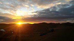 Super expérience dans le désert!