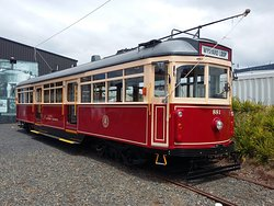 Auckland Dockline Tram