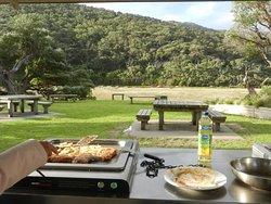 Öffentliche Barbecuestelle