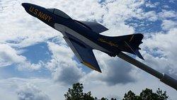 Blue Angels jet