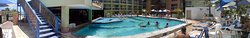 Área da piscina/praia