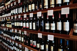 Largest wine selection I have ever seen