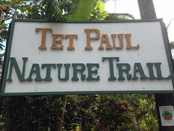 Tet Paul Nature Trail sign