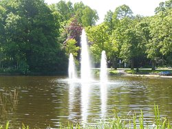 Zuiderpark Den Haag uit 1923