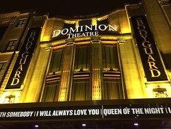 The Bodyguard at the Dominion Theatre London