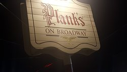 Plank's On Broadway