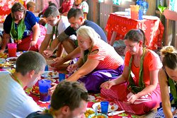 Lunch in Tuvu