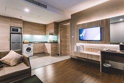 Living room - One Bedroom Premier (54 Sq. m.)