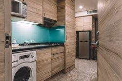 Kitchen - One Bedroom Suite (48 Sq. m.)