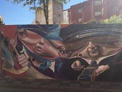 Arte Urbano en el Centro de Cuenca
