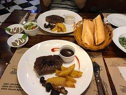 Good steak. Reasonable price. Nice staffs