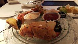 Crab Claws /Steak!!!