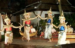Each Saturday night an authentic Thai Evening with music and dance is complimentary with dinner