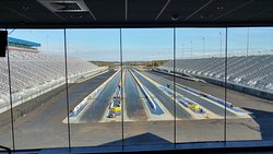 The only 4 lane Drag Strip in the country right at this location